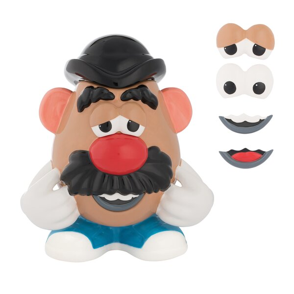 Mr.Potato Head Limited Edition Sculpted Ceramic Cookie Jar by Vandor LLC