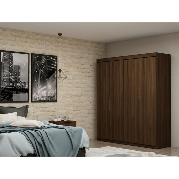 Delhi 2 Sectional Wardrobe Armoire (Set of 2) by Latitude Run