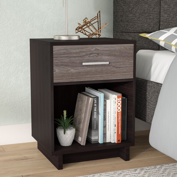 Chicopee 1 Drawer Nightstand by Zipcode Design