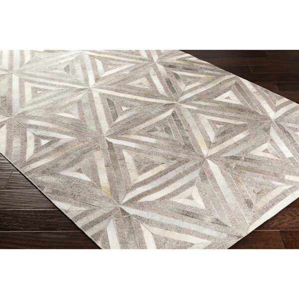 Armando Retangle Hand-Crafted Brown/Neutral Area Rug by Williston Forge