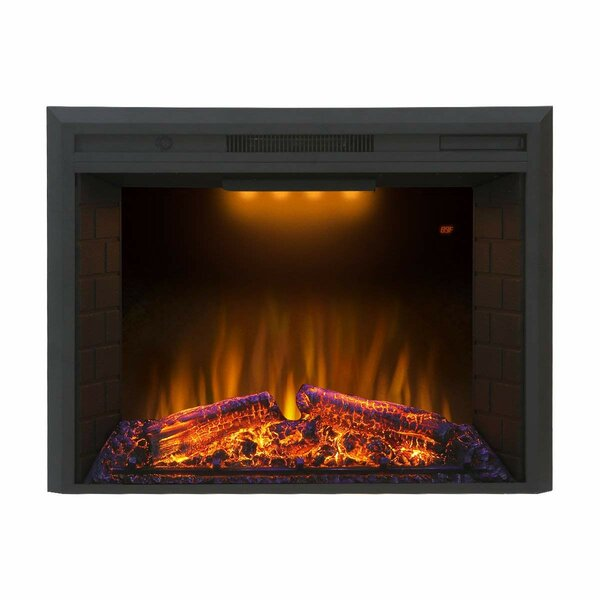 Jaqueline Electric Fireplace By Orren Ellis