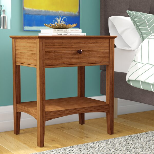 Ethelsville 1 Drawer Nightstand by Wrought Studio