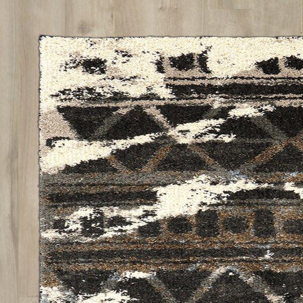 Mebane Charcoal Area Rug by Brayden Studio