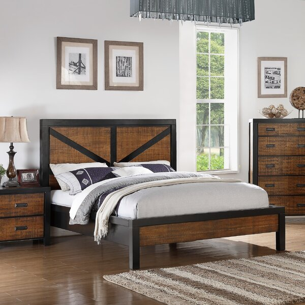 Waseca Standard Bed by Gracie Oaks