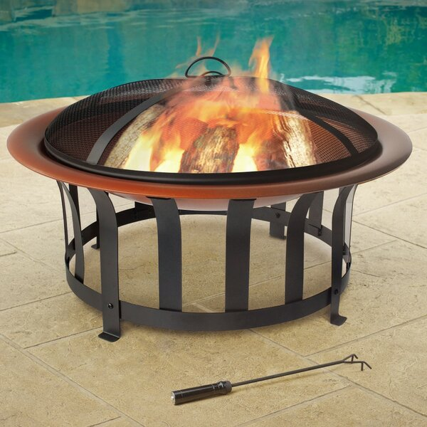 Bowl Steel Fire Pit by Jeco Inc.