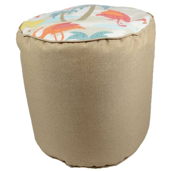 Duvall Pouf Ottoman by Bay Isle Home