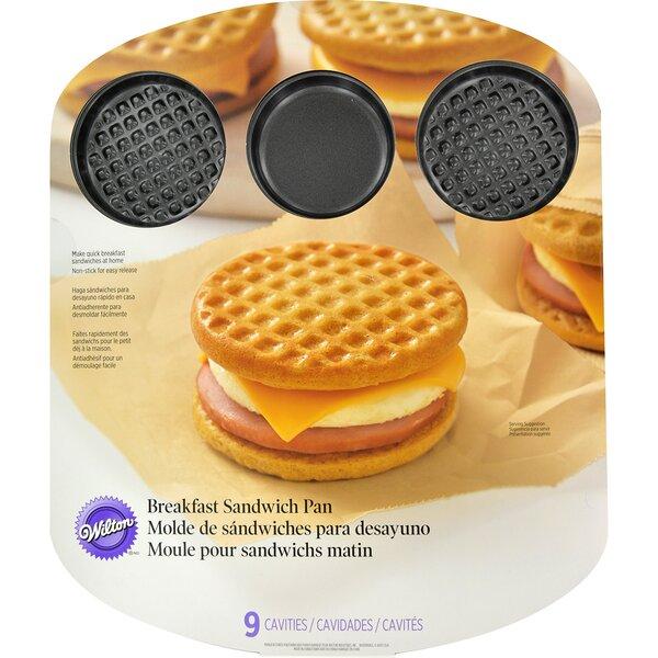 Breakfast Sandwich Pan by Wilton
