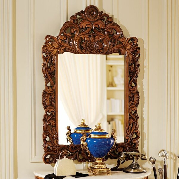 Chateau Gallet  Wall Mirror by Design Toscano