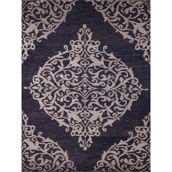 Gunner Navy Area Rug by Bungalow Rose