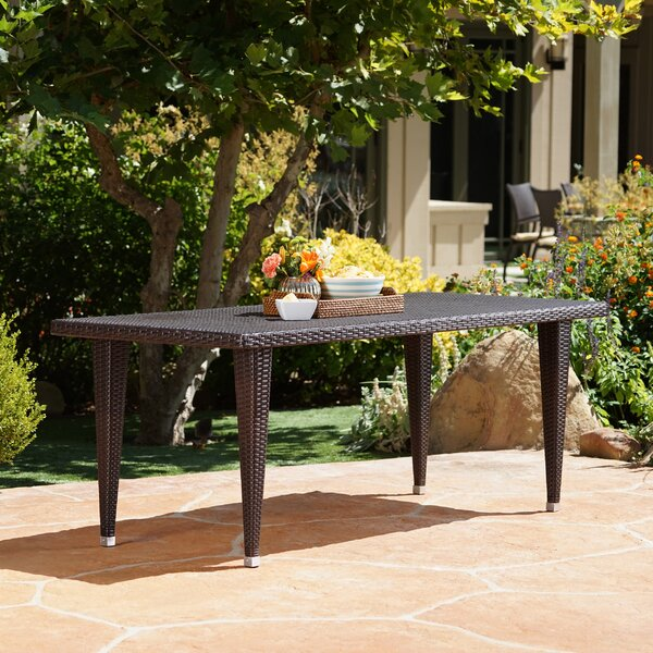 Disanto Outdoor Dining Table by Ivy Bronx
