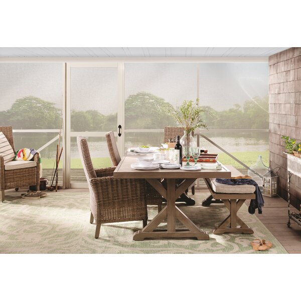 Pederson 4-Piece Bar Height Dining Set with Cushions by Rosecliff Heights