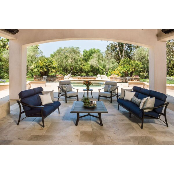 Corsica Seating Group with Cushions by Tropitone