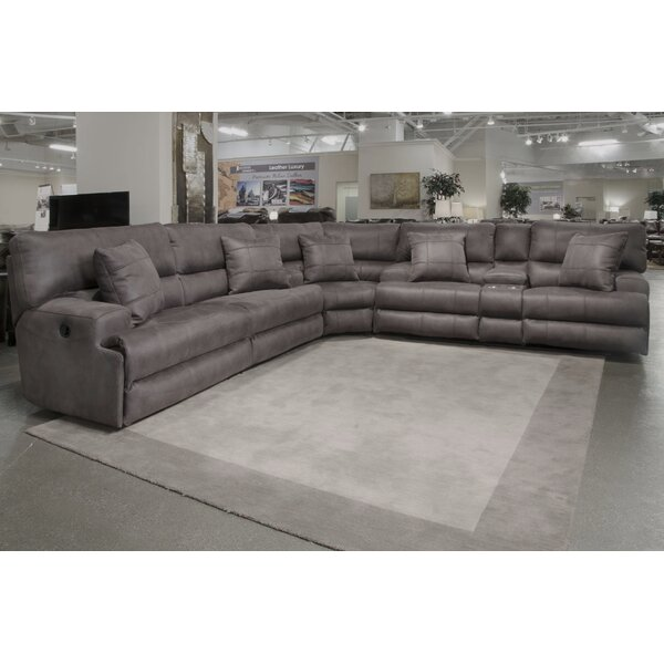 Monaco Reclining Sectional by Catnapper