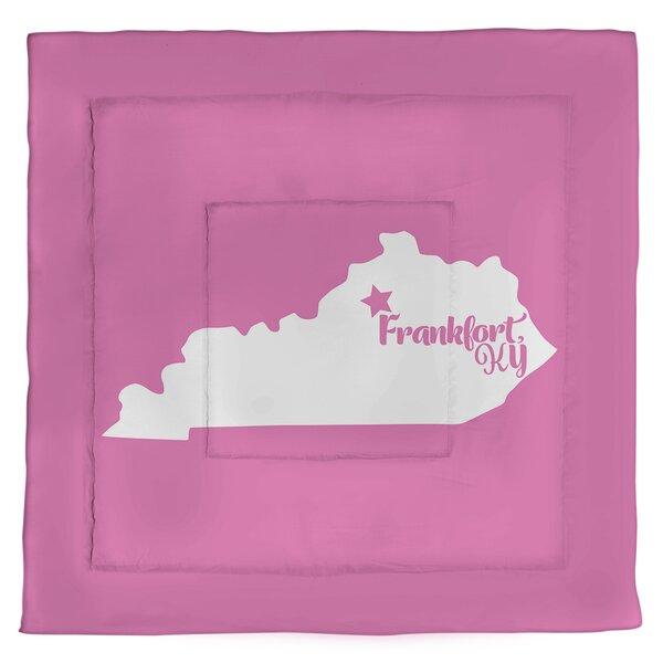 Frankfort Kentucky Single Reversible Comforter