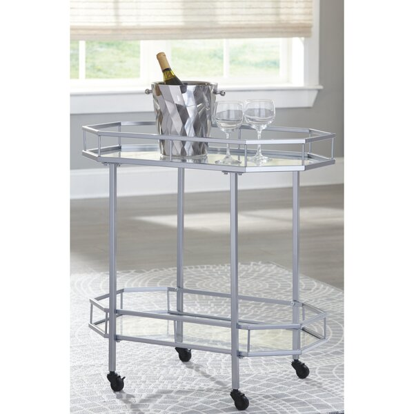 Kaleb Bar Cart by Mercer41 Mercer41