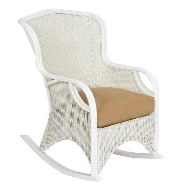 Heirloom Rocking Chair with Cushions by Woodard