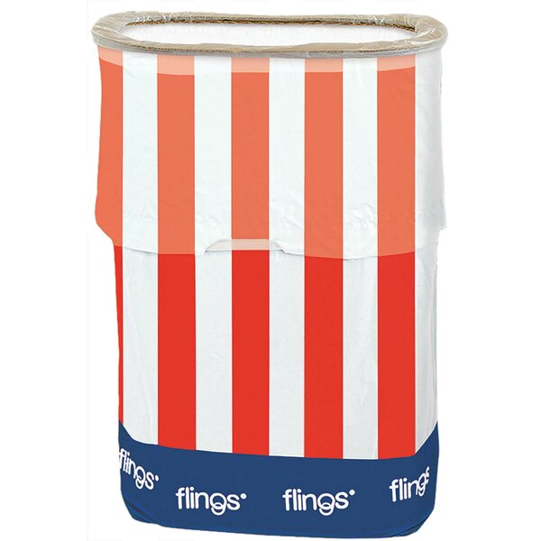 Patriotic Plastic 13 Gallon Trash Can by Amscan