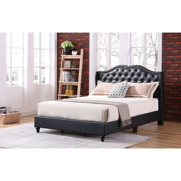 Great price Cobbett Upholstered Standard Bed By Rosdorf Park Spacial Price