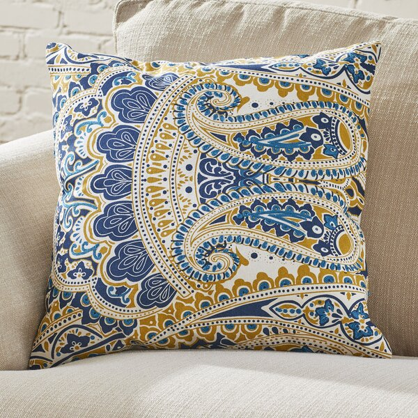 Kemper Paisley Pillow Cover by Birch Lane™