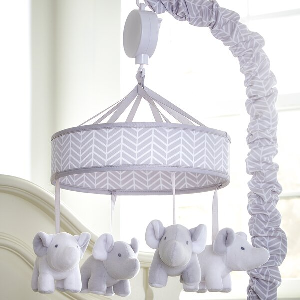 Superior Motorized Crib Mobile by Greyleigh