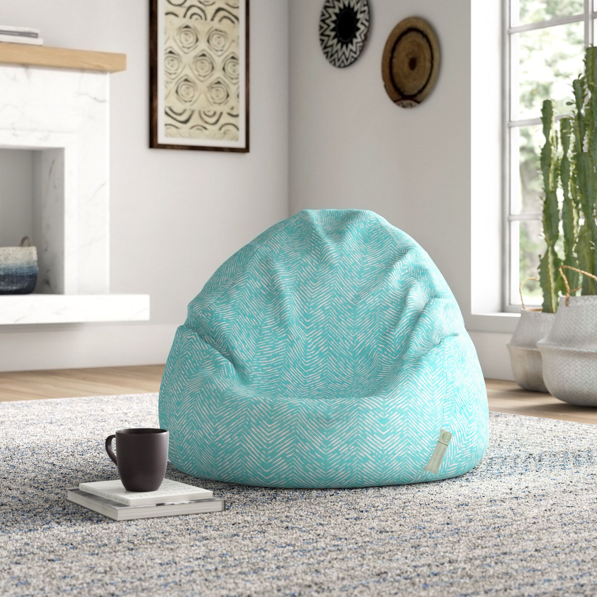 Fabulous Wrought Studio Glassell Bean Bag Chair Reviews Wayfair Alphanode Cool Chair Designs And Ideas Alphanodeonline