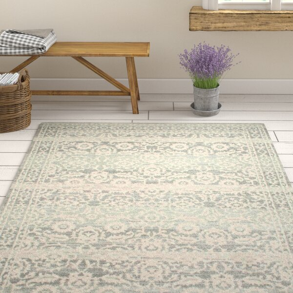Valois Gray Area Rug by One Allium Way