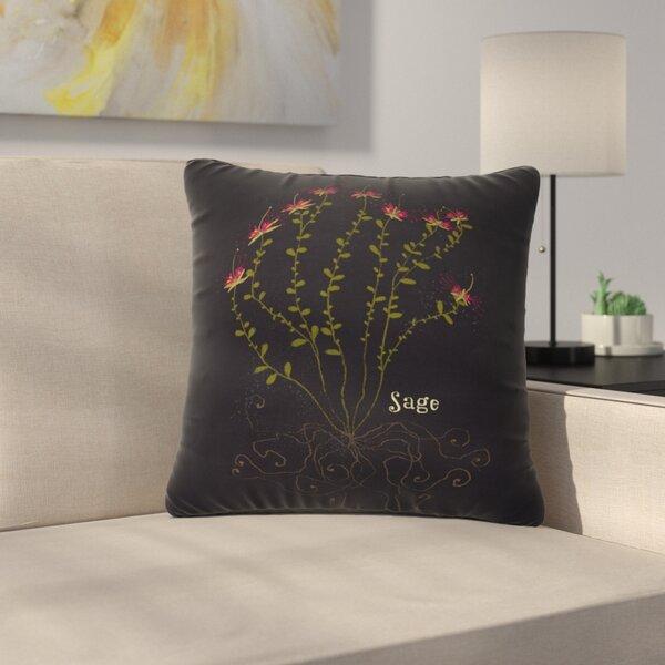 Handmade Pillows with Sage Colored Backs