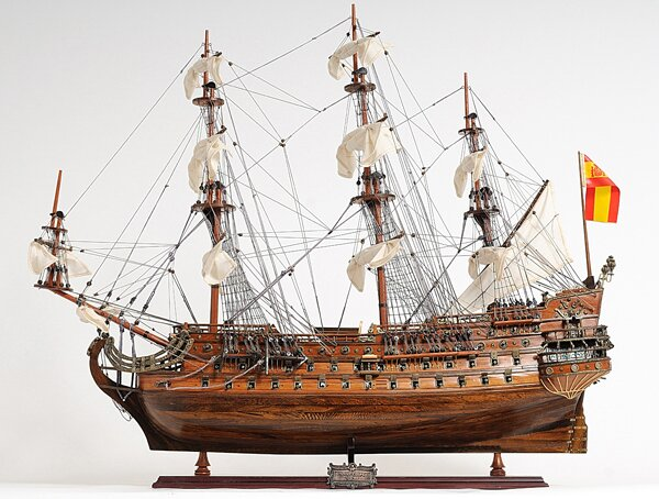 San Felipe Exclusive Edition Model Boat by Old Modern Handicrafts