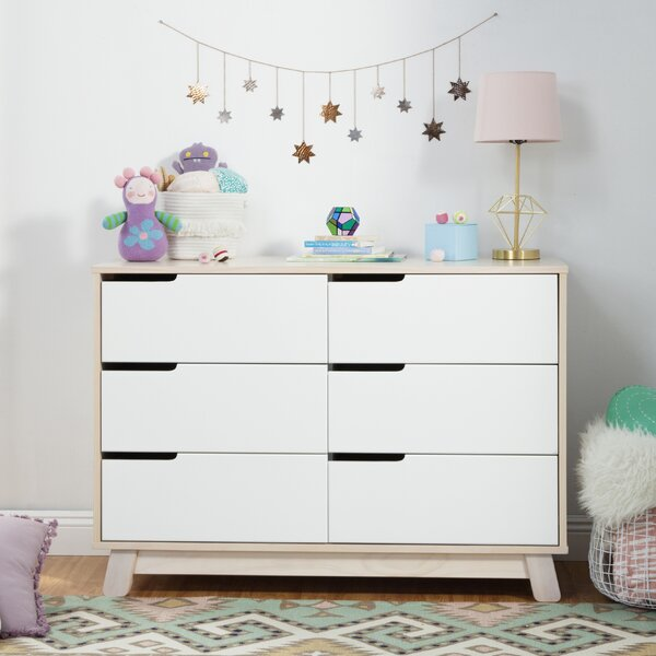 Hudson 6 Drawer Double Dresser By Babyletto by babyletto Best Design
