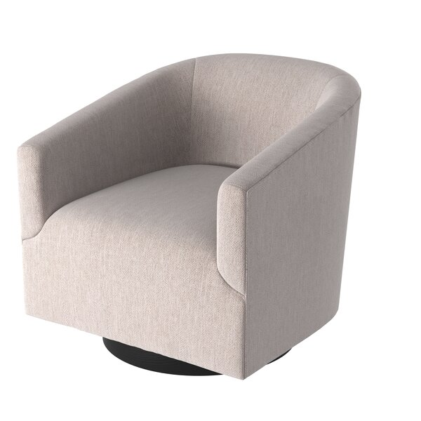 Kylie Swivel Barrel Chair by Foundstone Foundstone