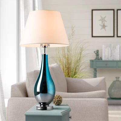 Blue Amp Brown Table Lamps You Ll Love In 2020 Wayfair
