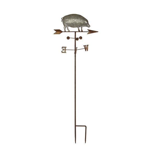 Farmhouse Pig on Weathervane Gothic Trellis by Cole & Grey