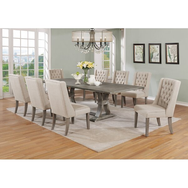 #2 Denville 9 Piece Dining Set By Gracie Oaks 2019 Coupon