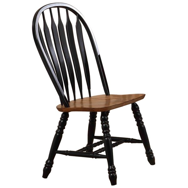 Florentia Solid Wood Dining Chair by Beachcrest Home