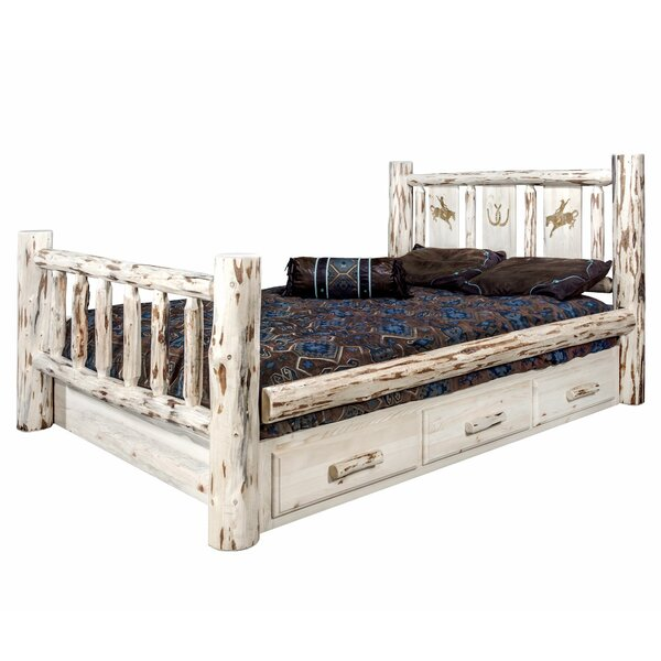 Antigo Twin Storage Platform Bed By Millwood Pines