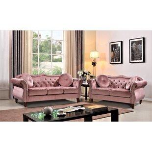 Garfinkel 2 Piece Standard Living Room Set by House of Hampton®