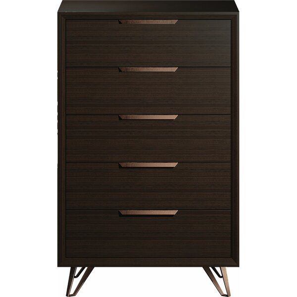Bartlesville 5 Drawer Chest by Orren Ellis