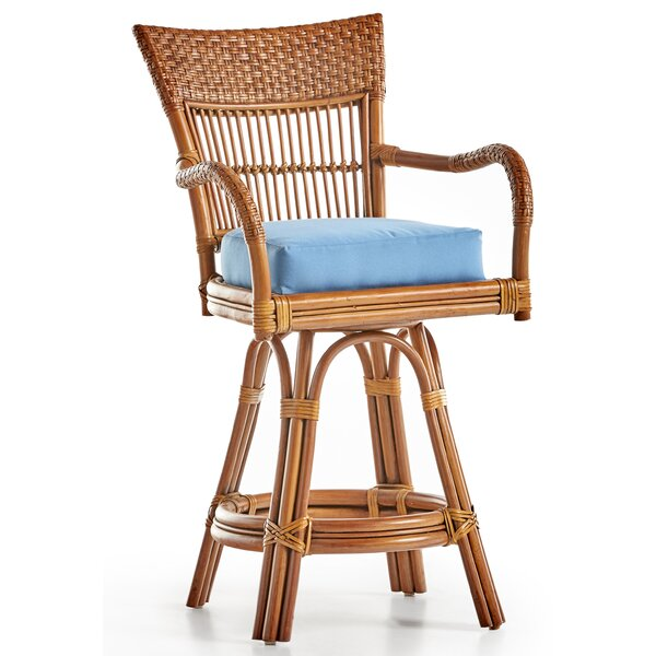 Candida 30 Swivel Bar Stool by South Sea Rattan
