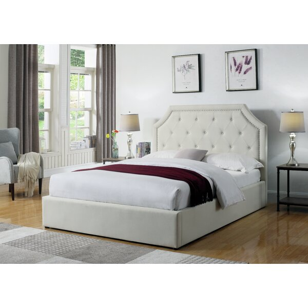 Hurley Upholstered Platform Bed by Darby Home Co