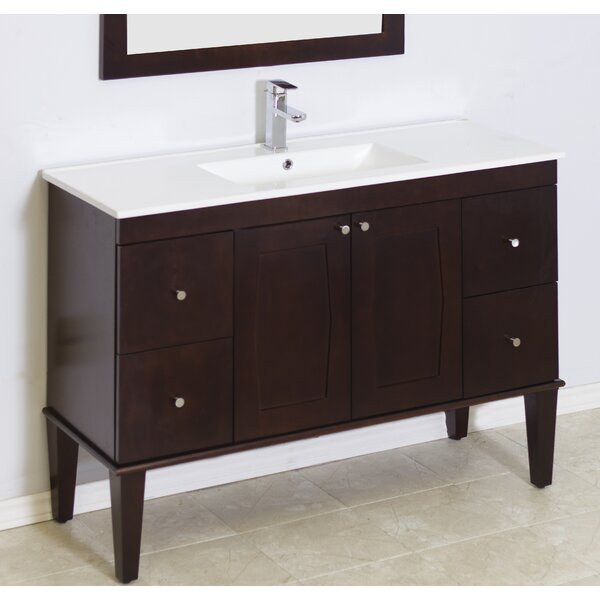Rosehill Floor Mount 48 Single Bathroom Vanity Set by Winston Porter