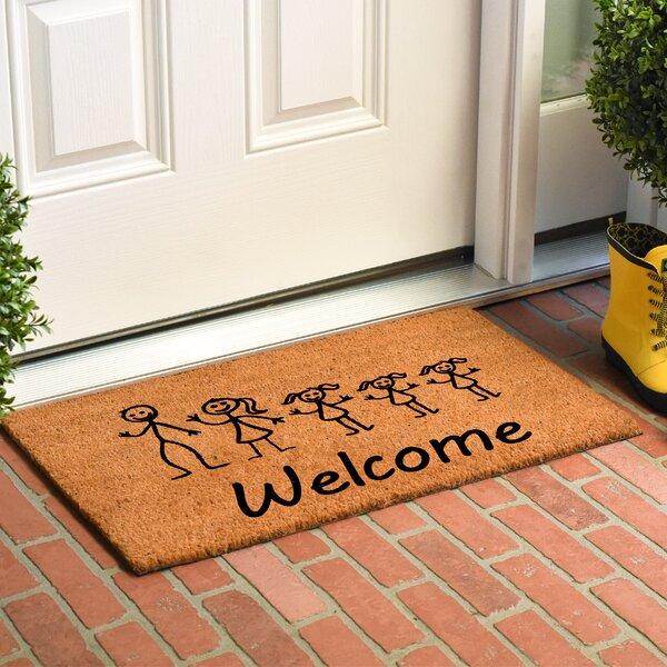 Krupp Stick Family Doormat by Winston Porter