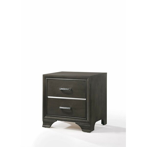 Wooton 2 Drawer Nightstand by Foundry Select