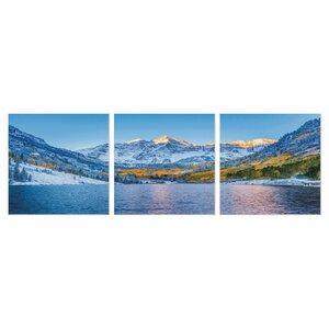 'Maroon Bells Colorado' Photographic Print Multi-Piece Image on Canvas by Latitude Run