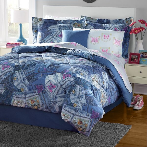 Jeans Comforter Set by PDK Worldwide