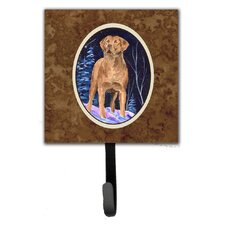 Starry Night Chesapeake Bay Retriever Leash Holder and Wall Hook by Caroline's Treasures
