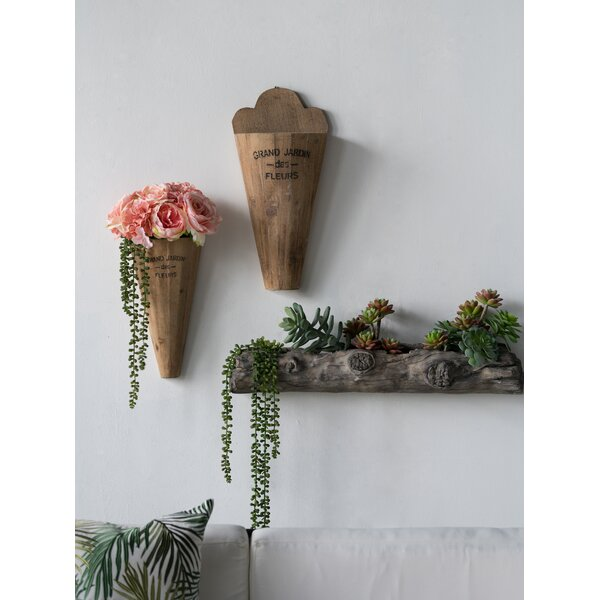 navarrette 2 piece jardin wall vase set reviews joss