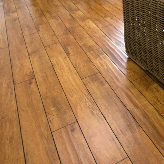 5 x 48 x 12.3mm  Laminate Flooring in Prairie Gold by Serradon