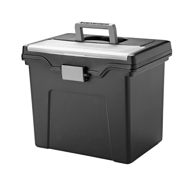Portable Letter File Box by IRIS USA, Inc.