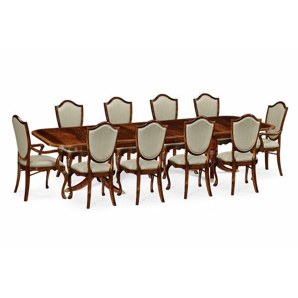 11 Piece Drop Leaf Dining Set