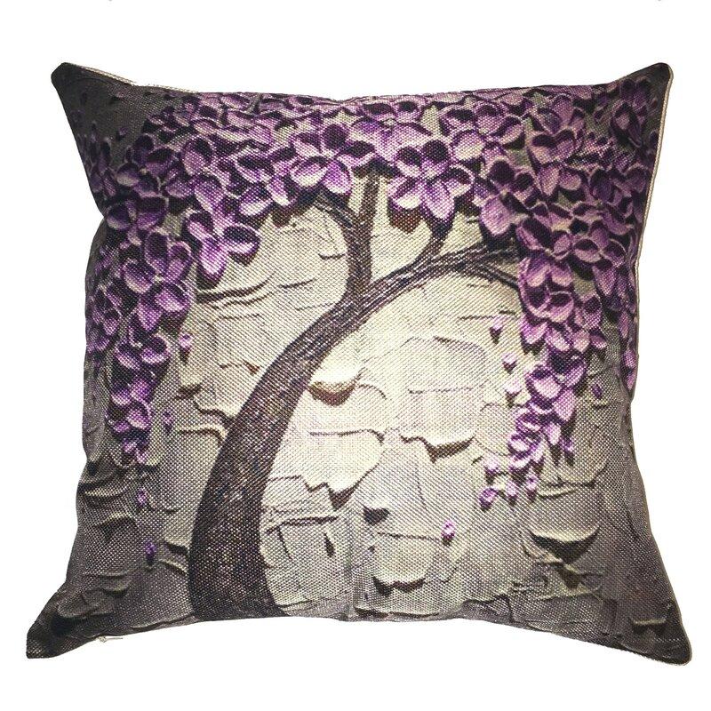 Purple Sofa Pillows Light Purple Throw Pillows Wayfair